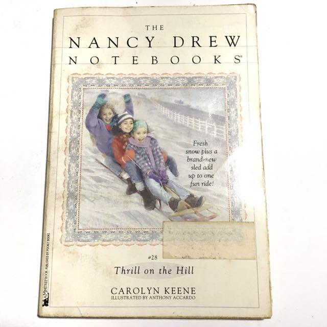 NANCY DREW: THRILL ON THE HILL by Carolyn Keene