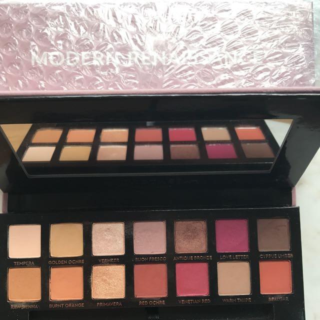 New Anastasia Modern Renaissance Palette