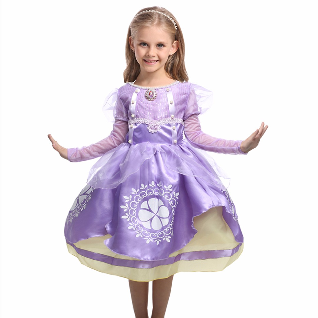 New Kids Holiday Costume Sofia The First Cosplay Princess Party ...