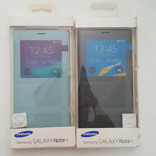 [NEW] BLUE Original Samsung Galaxy Note 4 Case