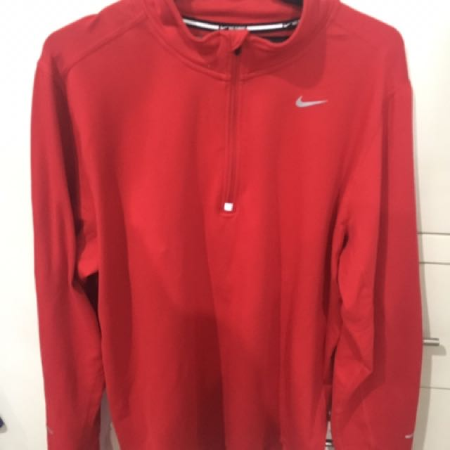 Nike Red Running Warmer