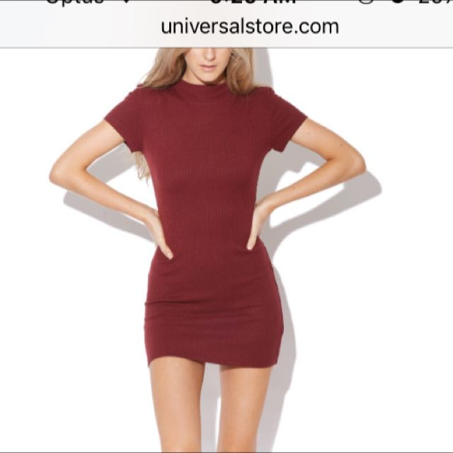 Pare Basic Red Dress