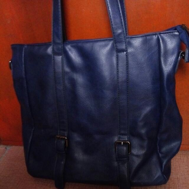 PARISIAN BAG BLUE