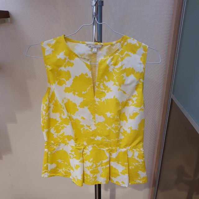 Peplum Yellow GAP Original