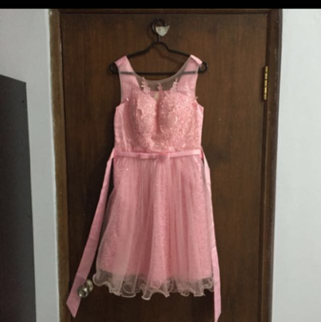 PINK PRINCESS PARTY GOWN DRESS 👌🏼👸🏻