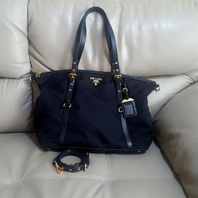 f1dae3ffabcc Prada Tote Bag, Luxury, Bags & Wallets on Carousell