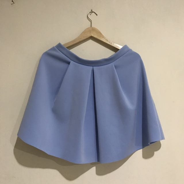 Preloved New Look Blue Pastel Skirt