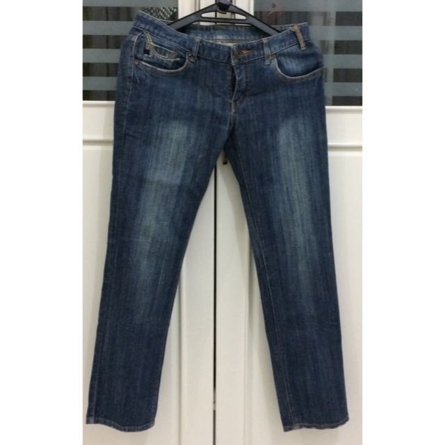 PRELOVED Ninety-Seven's Low Waisted Jeans