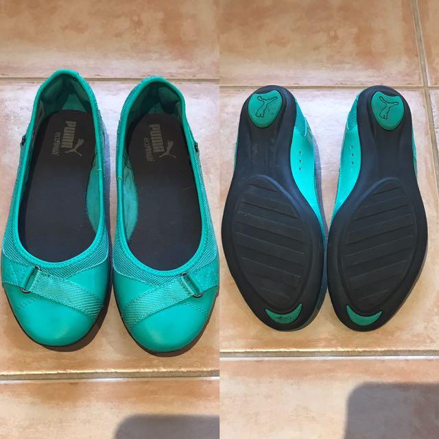 Puma size 38 Aqua Shoes