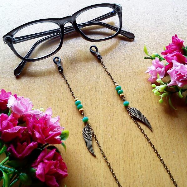 Rantai Kacamata Glasses Strap Bohemian Wings