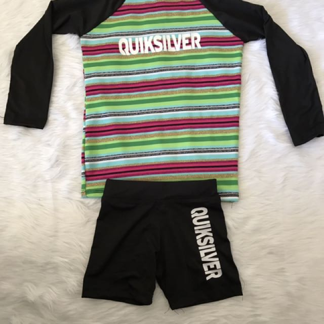 "Rashguard ""quiksilver"" For Kids 1 To 2 Yrs. Old"