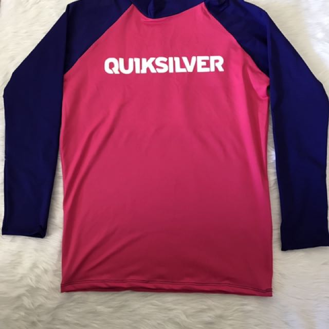 "Rashguard ""quiksilver"" For Women Medium To Semi XL"