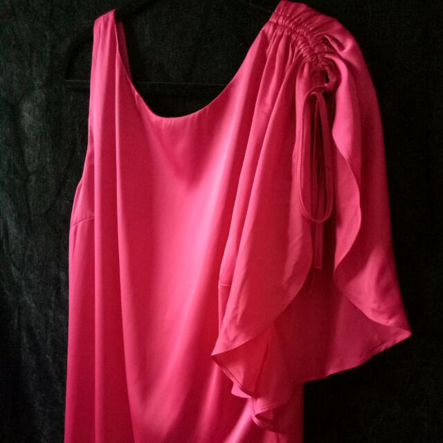REVIEW Dress 14 Hot Pink