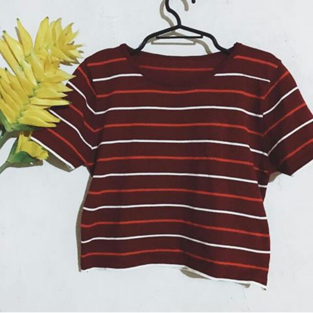 Rib Top (Stripes)