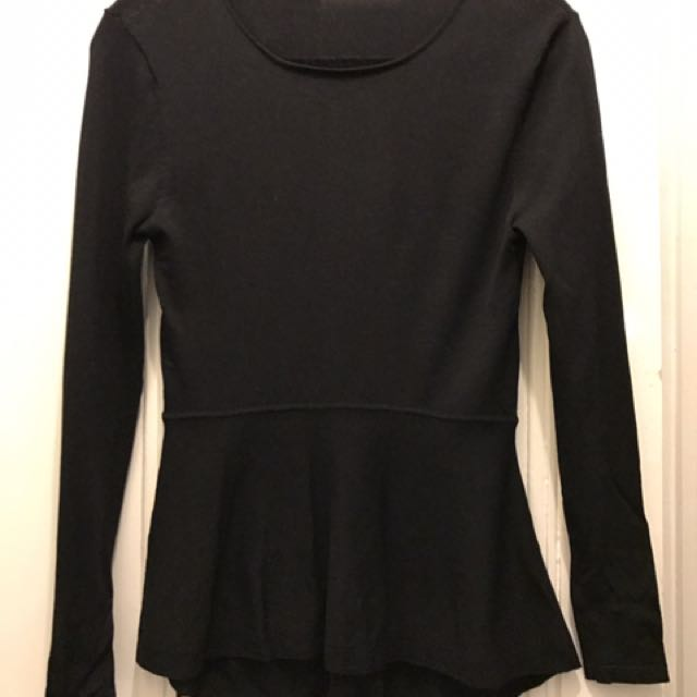 Seed Crepe Knit Top