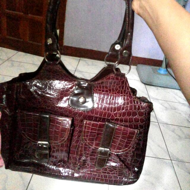Shoulder Bag Crocodile