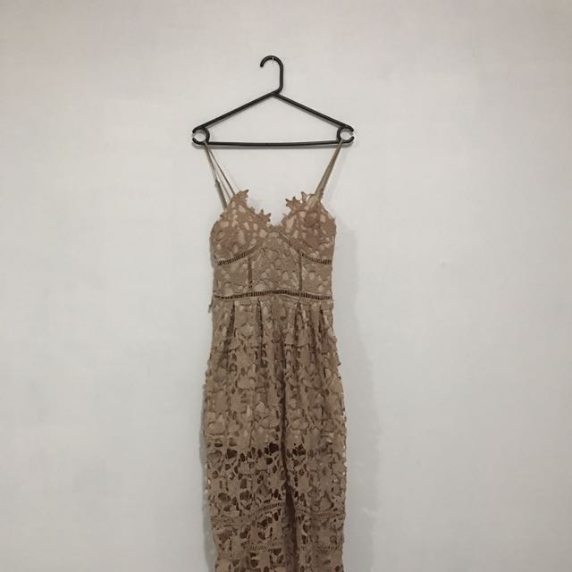 Showpo Crochet Day Dress