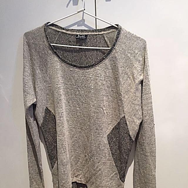Sportsgirl Grey Top - Size 6