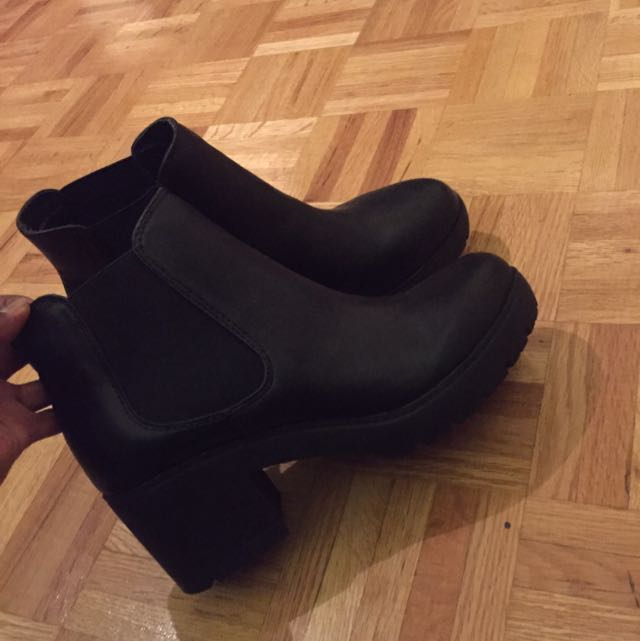 Steven Madden Boot Heels