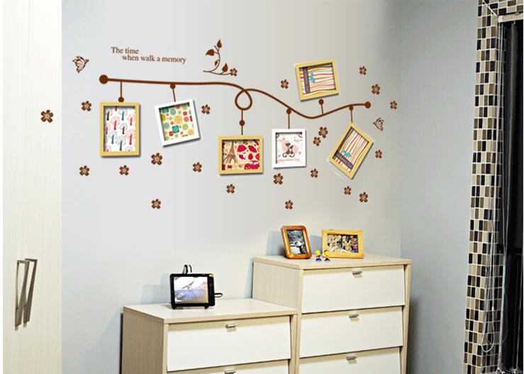 Sticker untuk frame foto bisa jadi wallpaper & wall sticker - KHM065