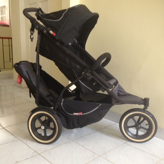 Stroller Double Buggy, Tandem