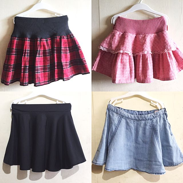 Take All Girls' Skater/ Full Circle Skirts