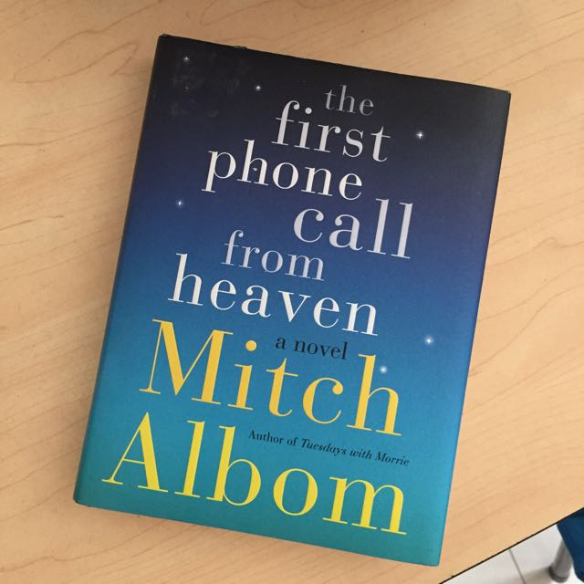 HARDCOVER The First Phone Call From Heaven by Mitch Albom
