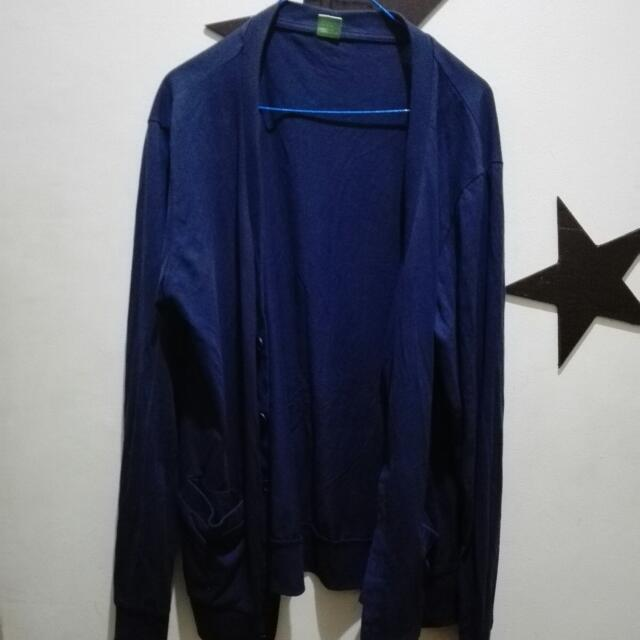 Tomato Cardigan (navy blue)
