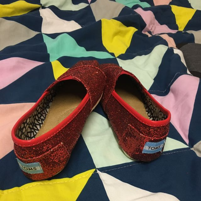 Toms Red Shoes