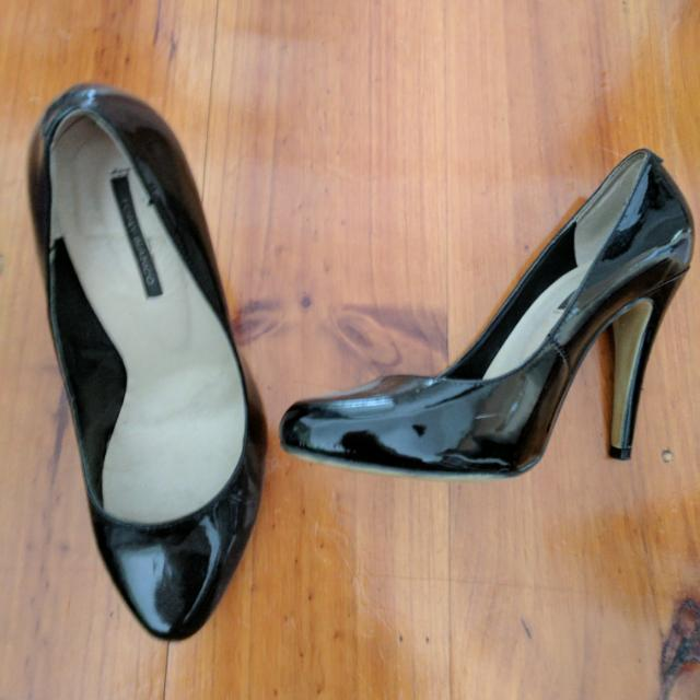 Tony Bianco Patent Leather Pumps Size 7.5