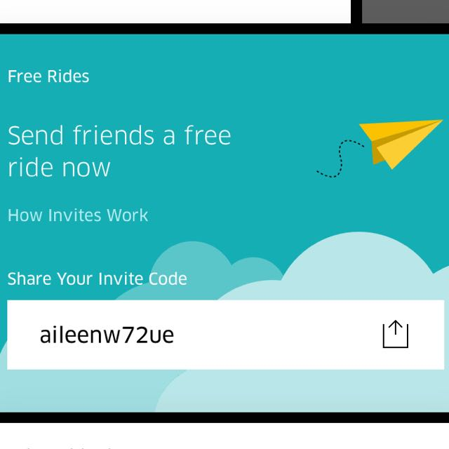 Uber Code For New Users