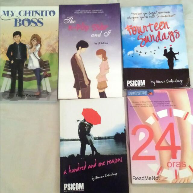 Wattpad Books For Sale With Free Bookmark 100.00 Pesos Each Only!!! Meet up Lrt baclaran station  , Sm Sucat, Sm Bf    Txt Or Call Only : 09066154035