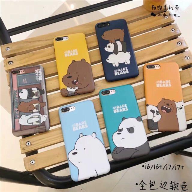 We Bare Bears Phone Cover