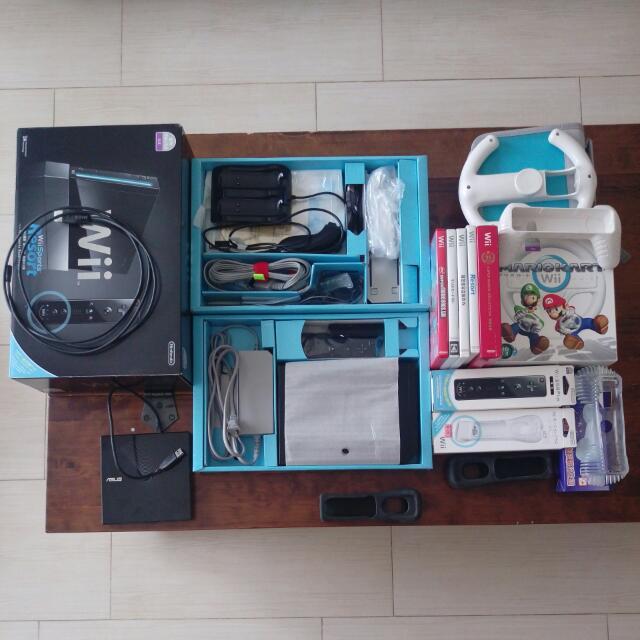 任天堂Wii 全套主機+遊戲