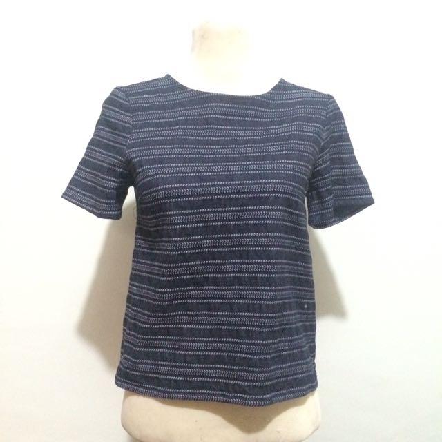Zara Blue Top
