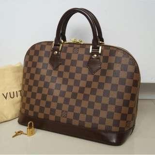Preloved Louis Vuitton Alma Bag Original