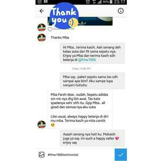 Customer Testimony ❤