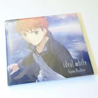日本帶回 【ideal white / Fate/stay night 命運/停駐之夜 期間生產限定盤】