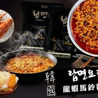 🚚 韓國頂級龍蝦馬鈴薯泡麵