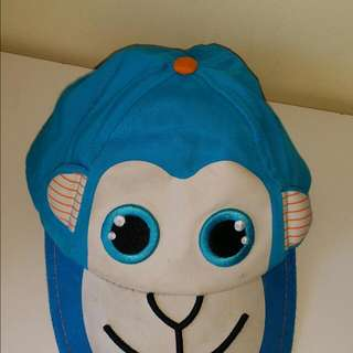 Boys Monkey Baseball Hat