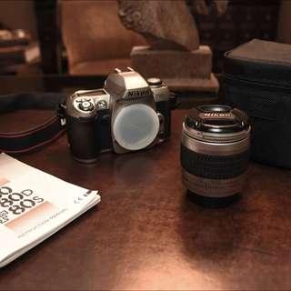 NIKON F80 FILM CAMERA & NIKON 28-80mm LENS