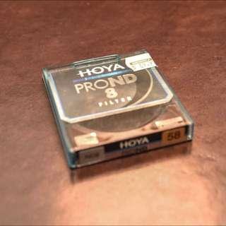 HOYA ND FILTER (8 STOPS) - 58mm