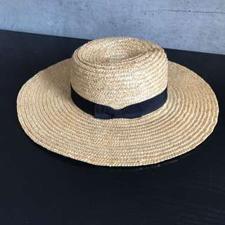Lack Of Colour Spencer Wide Brimmed Boater Hat