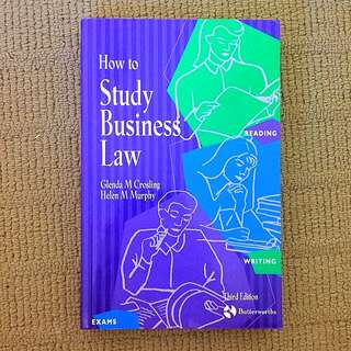 How To Study business Law