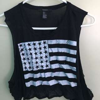 Forever 21 - Flag Top (M)