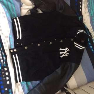 Baseball Lather Jacket