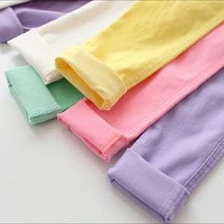 BN Purple Long Pants For 6-8yo