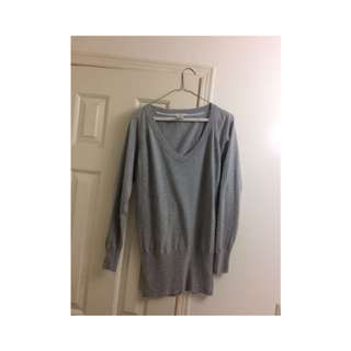 Talula Aritzia Grey Cashmere Sweater (small)