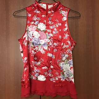 (Preloved) Chinese Blouse