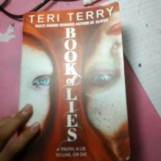 Book Of Lies By Teri Terry
